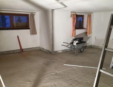 Baustelle: Schlafzimmer
