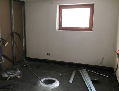 Baustelle: Schlafzimmer 2