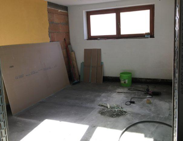 Baustelle: Schlafzimmer 1